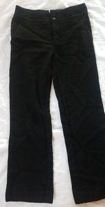 Women's Zara Wool And Nylon Work Trousers-Size 6